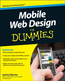 Mobile Web Design For Dummies, Paperback Book