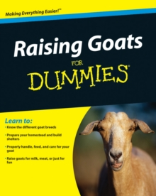 Raising Goats for Dummies, Paperback Book