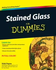 Stained Glass For Dummies, Paperback Book