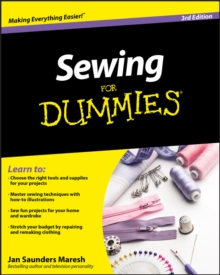 Sewing for Dummies, 3rd Edition, Paperback Book