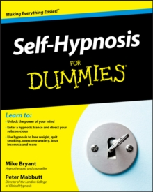 Self-Hypnosis For Dummies, Paperback Book
