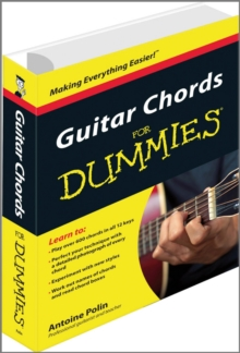 Guitar Chords For Dummies, Paperback Book