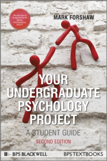 Your Undergraduate Psychology Project : A Student Guide, Paperback Book