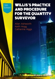 Willis's Practice and Procedure for the Quantity Surveyor, Paperback Book