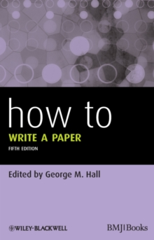 How to Write a Paper, Paperback Book