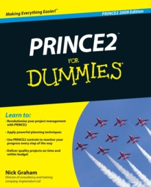 Prince2 for Dummies, 2009 Edition, Paperback Book