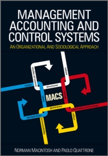 Management Accounting and Control Systems : An Organizational and Sociological Approach, Paperback Book