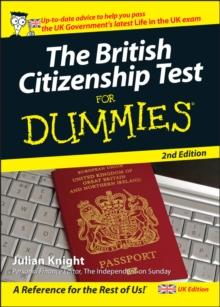 The British Citizenship Test For Dummies, Paperback Book