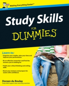 Study Skills For Dummies, Paperback Book