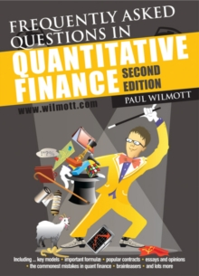 Frequently Asked Questions in Quantitative Finance, Paperback Book