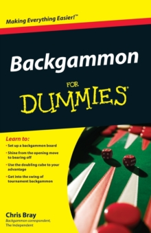 Backgammon for Dummies, Paperback Book