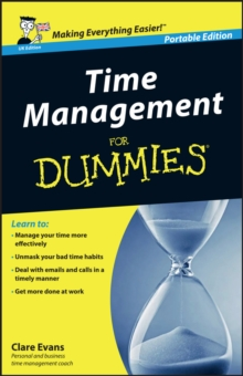 Time Management For Dummies, Paperback Book