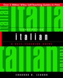 Italian : A Self-teaching Guide, Second Edition, Paperback Book