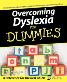 Overcoming Dyslexia for Dummies, Paperback Book