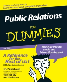Public Relations for Dummies, 2nd Edition, Paperback Book
