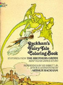 Rackham's Fairy Tale Colouring Book, Paperback Book