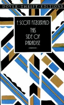 This Side of Paradise, Paperback Book