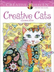 Creative Haven Creative Cats Coloring Book, Paperback Book