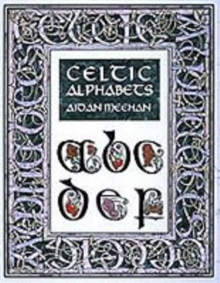 Celtic Alphabets, Paperback Book