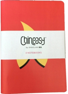 Chineasy: Set of 3 A5 Notebooks, Other printed item Book