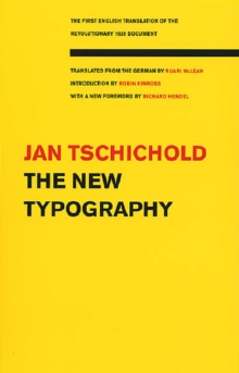 The New Typography, Paperback Book
