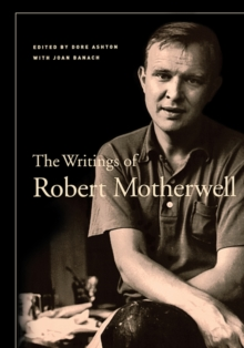The Writings of Robert Motherwell, Paperback Book