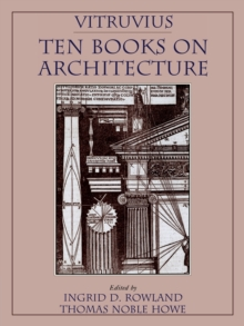 Vitruvius: 'Ten Books on Architecture' : Ten Books, Paperback Book