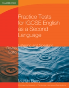 Practice Tests for IGCSE English as a Second Language: Listening and Speaking, Paperback Book