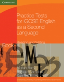 Practice Tests for IGCSE English as a Second Language: Reading and Writing Book 1, Paperback Book