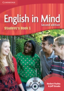 English in Mind Level 1 Student's Book with DVD-ROM : Level 1, Mixed media product Book