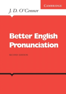 Better English Pronunciation, Paperback Book
