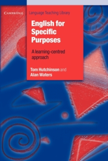 English for Specific Purposes, Paperback Book