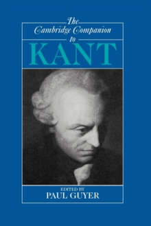 The Cambridge Companion to Kant, Paperback Book
