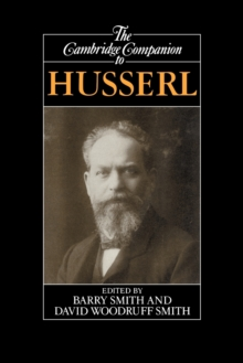 The Cambridge Companion to Husserl, Paperback Book