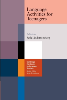 Language Activities for Teenagers, Paperback Book