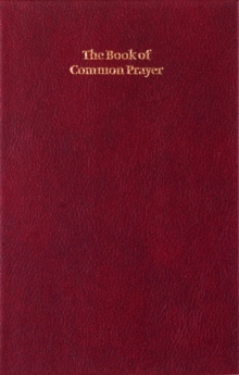 Book of Common Prayer Enlarged Edition 701B Burgundy, Leather / fine binding Book