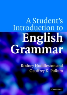 A Student's Introduction to English Grammar, Paperback Book
