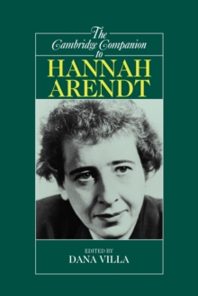 The Cambridge Companion to Hannah Arendt, Paperback Book
