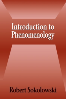 Introduction to Phenomenology, Paperback Book