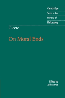 Cicero: On Moral Ends