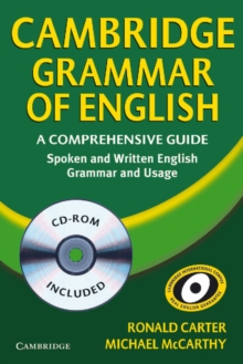 Cambridge Grammar of English Paperback with CD ROM : A Comprehensive Guide, Mixed media product Book