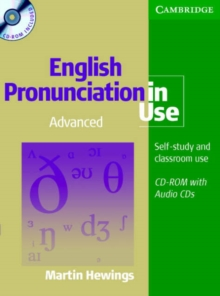 English Pronunciation in Use Advanced Book with Answers, 5 Audio CDs and CD-ROM, Mixed media product Book