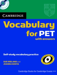 Cambridge Vocabulary for PET Student Book with Answers and Audio CD, Mixed media product Book