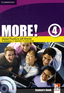 More! Level 4 Student's Book with Interactive CD-ROM : Level 4, Mixed media product Book