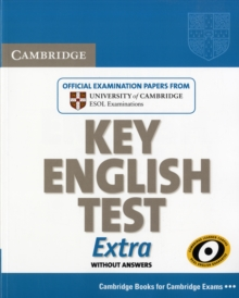 Cambridge Key English Test Extra Student's Book, Paperback Book