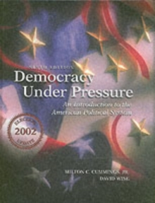 Democracy Under Pressure : Election Update, Hardback Book