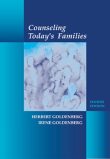 Counseling Today's Families, Paperback Book
