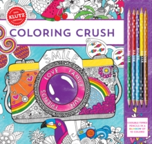 Coloring Crush, Mixed media product Book