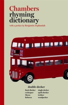 Chambers Rhyming Dictionary, Paperback Book