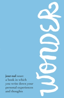 Wonder Journal, Paperback Book